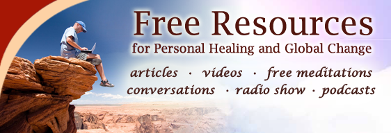 Free Resouces for Self-Healing and Global Change Banner