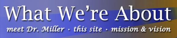 About DrMiller.com Banner