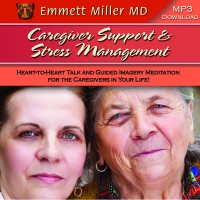 Caregiver Support and Stress Management Guide Imagery Meditation MP3 Cover