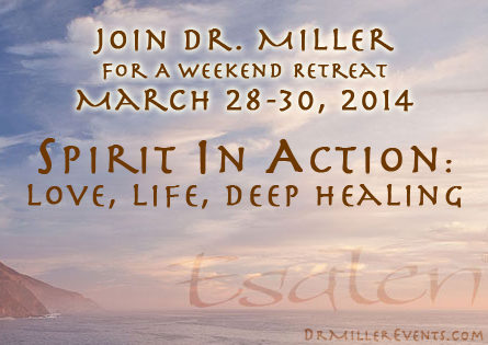 Banner for Spirit In Action Retreat at Esalen Institute